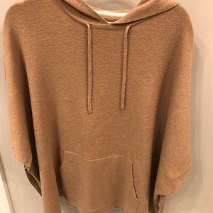 Loft Camel Poncho Sweater